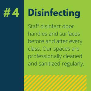 #4 Disinfecting