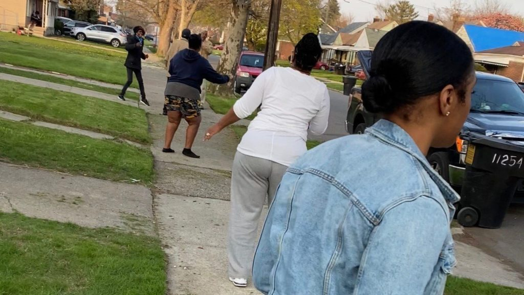 Social Distanced Dance Party in Detroit, Michigan