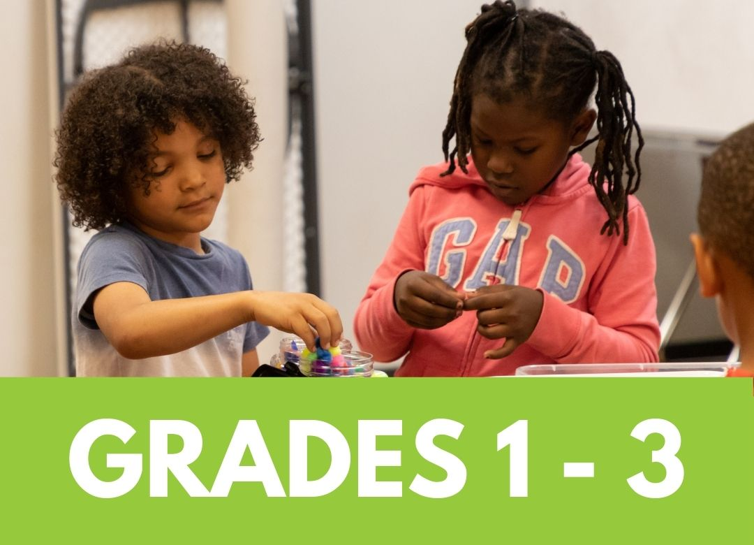 Click to see summer camps for grades 1 through 3