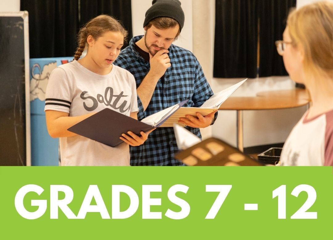 Click to see camps for grades 7 through 12
