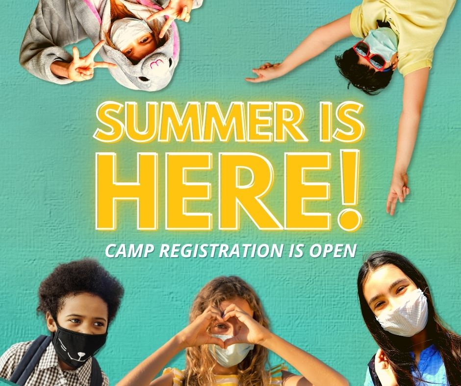Summer Camp Registration is Open! Click to find a camp!